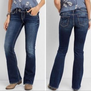 Silver Tuesday Bootcut Jeans 28/31
